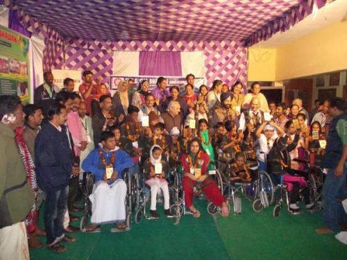 A Team of  differently abled children from Kerala visited MDD Bal Bhawan