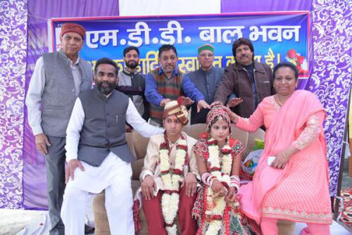 Marriage of a Girl belongs to a poor Family at M D D Bal Bhawan