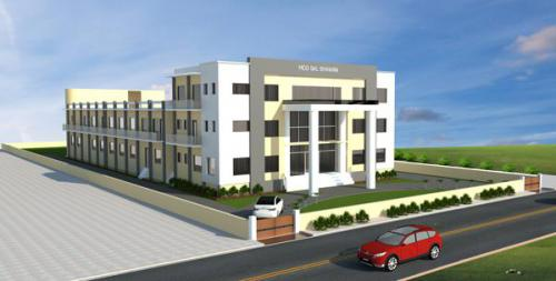 Proposed Plan of MDD New Building